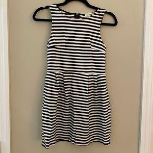 Black/White Stripe Dress